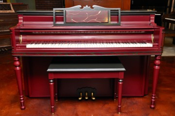 Chickering console acoustic upright piano used for sale rent rental chandler tempe scottsdale chandler  gilbert mesa arizona phoenix my first gallery az