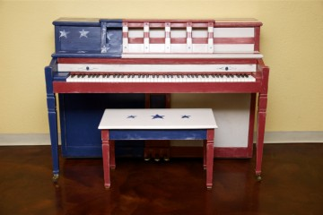 Baldwin Console acoustic upright piano used for sale rent rental chandler tempe scottsdale gilbert mesa arizona phoenix my first gallery az