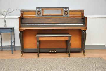 Story and Clark console acoustic upright piano shabby chic refinish DIY used for sale rent rental gilbert mesa arizona phoenix my first gallery az scottsdale tempe chandler