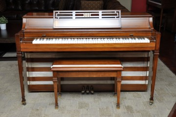 Story and Clark spinet acoustic upright piano used for sale rent rental gilbert mesa arizona phoenix my first gallery az refinish DIY Shabby chic