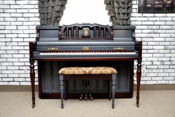 Wurlitzer console royal blue regal acoustic upright piano used for sale rent rental gilbert mesa arizona phoenix my first gallery az