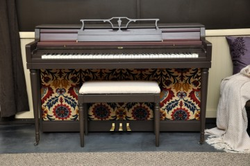 Wurlitzer spinet student beginner acoustic upright piano used for sale rent rental chandler tempe scottsdale gilbert mesa arizona phoenix my first gallery az