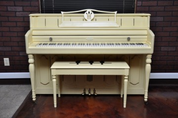 Wurlitzer console acoustic upright piano used for sale rent rental chandler tempe scottsdale gilbert mesa arizona phoenix my first gallery az