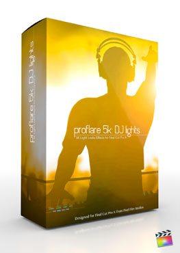 Final Cut Pro X Plugin ProFlare 5K DJ Lights from Pixel Film Studios