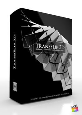 Final Cut Pro X Plugin TransFlip 3D from Pixel Film Studios