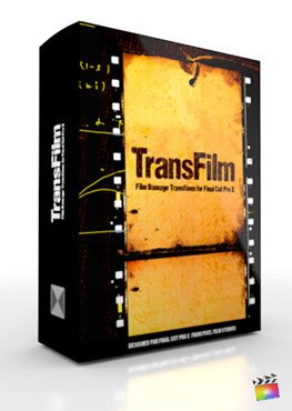 Final Cut Pro X Plugin TransFilm from Pixel Film Studios