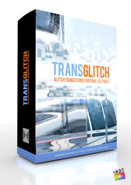Final Cut Pro X Plugin TransGlitch from Pixel Film Studios