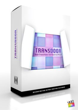 Final Cut Pro X Plugin TransDoor from Pixel Film Studios