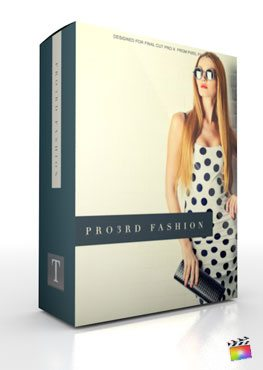 Final Cut Pro X Plugin Pro3rd Fashion from Pixel Film Studios