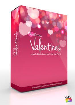 Final Cut Pro X Plugin ProDrop Valentines from Pixel Film Studios