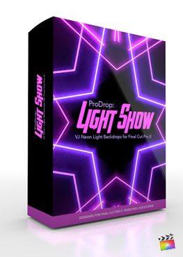 Final Cut Pro X Plugin ProDrop Light Show from Pixel Film Studios