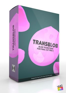 Final Cut Pro X Plugin TransBlob from Pixel Film Studios