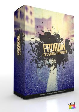 Final Cut Pro X Plugin ProRuin from Pixel Film Studios