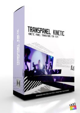 Final Cut Pro X Plugin TransPanel Kinetic from Pixel Film Studios