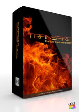 Final Cut Pro X Plugin TransFire from Pixel Film Studios
