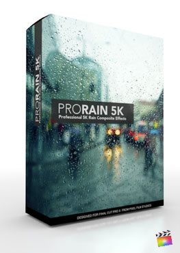Final Cut Pro X Plugin ProRain 5K from Pixel Film Studios