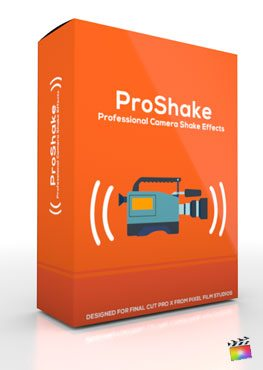 Final Cut Pro X Plugin ProShake from Pixel Film Studios