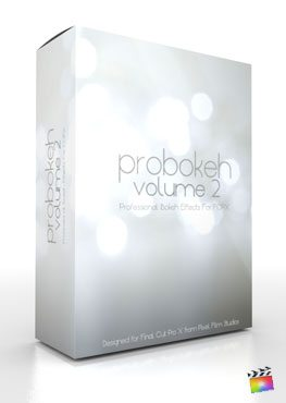 Final Cut Pro X Plugin ProBokeh Volume 2 from Pixel Film Studios