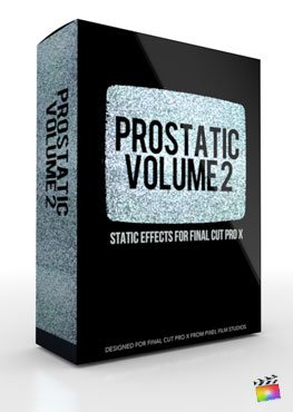 Final Cut Pro X Plugin ProStatic Volume 2 from Pixel Film Studios