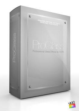 Final Cut Pro X Plugin ProGlass from Pixel Film Studios