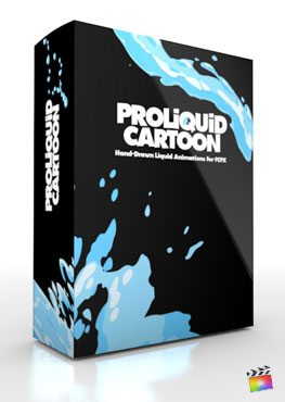 Final Cut Pro X Plugin ProLiquid Cartoon from Pixel Film Studios