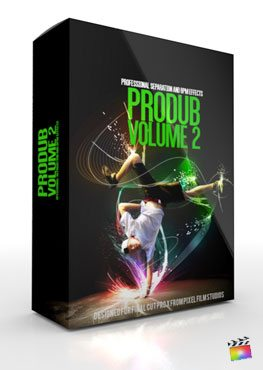 Final Cut Pro X Plugin ProDUB Volume 2 from Pixel Film Studios