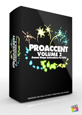 Final Cut Pro X Plugin ProAccent Volume 2 from Pixel Film Studios