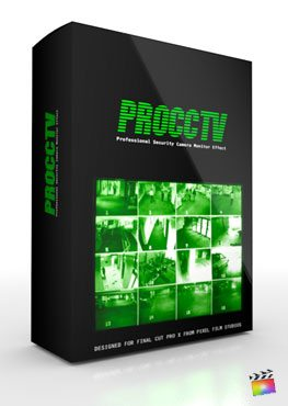 Final Cut Pro X Plugin ProCCTV from Pixel Film Studios