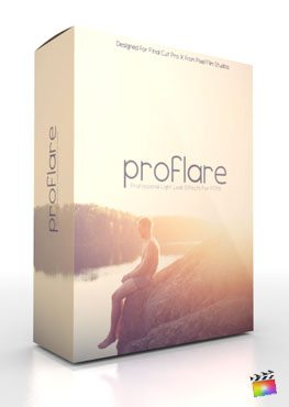 Final Cut Pro X Plugin ProFlare from Pixel Film Studios