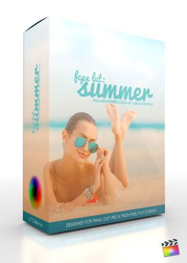 Final Cut Pro X Plugin FCPX LUT Summer from Pixel Film Studios