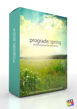 Final Cut Pro X Plugin ProGrade Spring from Pixel Film Studios