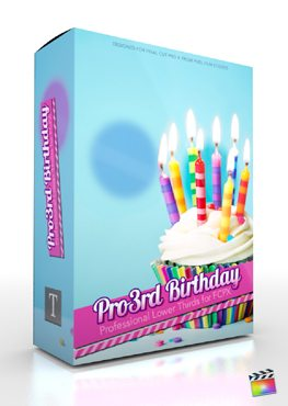 Final Cut Pro X Plugin Pro3rd Birthday from Pixel Film Studios