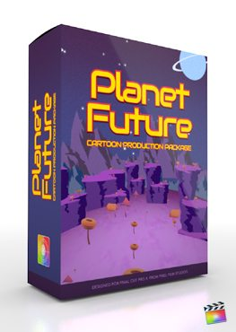 Final Cut Pro X Plugin Production Package Planet Future from Pixel Film Studios