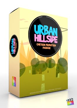 Final Cut Pro X Plugin Production Package Urban Hillside from Pixel Film Studios