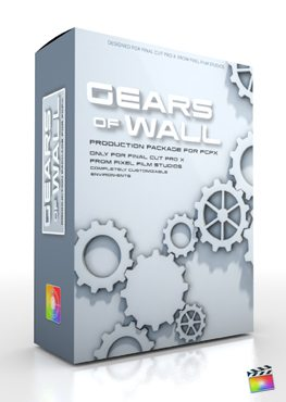 Final Cut Pro X Plugin Production Package Gears of Wall from Pixel Film Studios