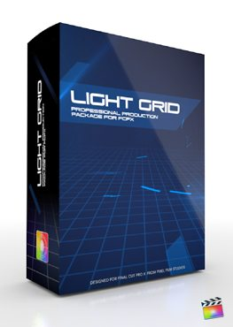 Final Cut Pro X Plugin Production Package Light Grid from Pixel Film Studios