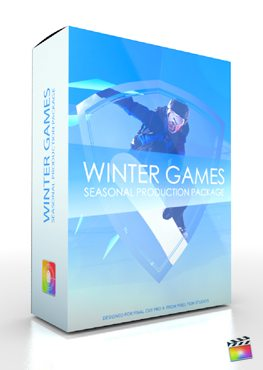 Final Cut Pro X Plugin Production Package Winter Games from Pixel Film Studios