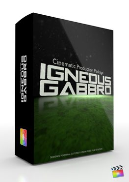 Final Cut Pro X Plugin Production Package Igneous Gabbro from Pixel Film Studios