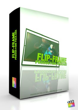 Final Cut Pro X Plugin Production Package Flip Frame from Pixel Film Studios