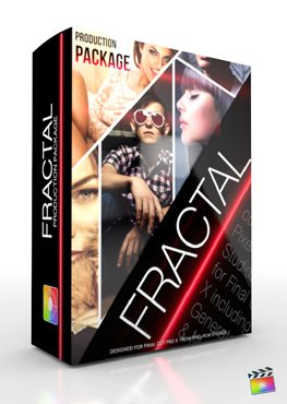 Final Cut Pro X Plugin Production Package Fractal from Pixel Film Studios