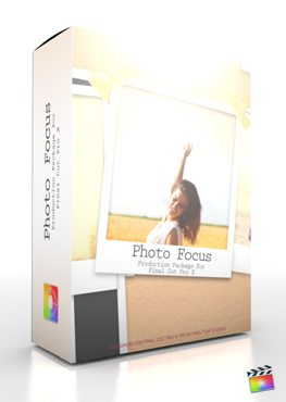 Final Cut Pro X Plugin Production Package Photo Focus from Pixel Film Studios