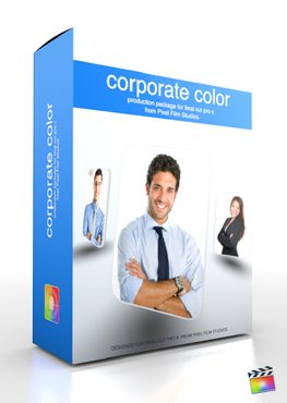 Final Cut Pro X Plugin Production Package Corporate Color from Pixel Film Studios