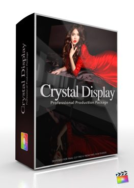 Final Cut Pro X Plugin Production Package Crystal Display from Pixel Film Studios