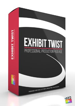 Final Cut Pro X Plugin Production Package Exhibit Twist from Pixel Film Studios