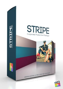 Final Cut Pro X Plugin Production Package Stripe from Pixel Film Studios