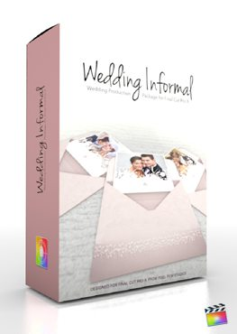 Final Cut Pro X Plugin Production Package Wedding Informal from Pixel Film Studios