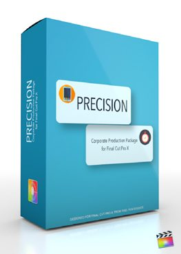 Final Cut Pro X Plugin Production Package Precision from Pixel Film Studios