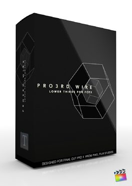 Final Cut Pro X Plugin Pro3rd Wire from Pixel Film Studios