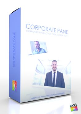 Final Cut Pro X Plugin Production Package Corporate Pane from Pixel Film Studios
