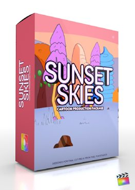 Final Cut Pro X Plugin Production Package Sunset Skies from Pixel Film Studios